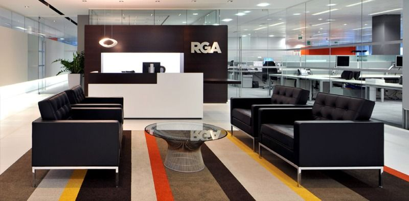 Modern Luxurious And Welcoming Reception Area of RGA Interior ...