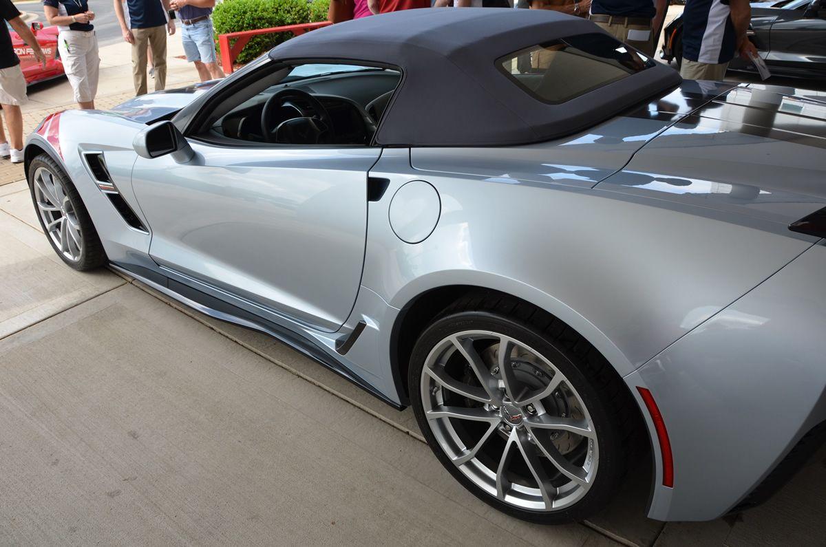 2017 Corvette Grand Sport Z15 Heritage Package Sterling Blue Metallic Corvette Gallery Corvette Grand Sport Corvette Corvette Convertible