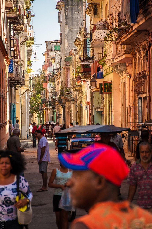 Street Life in Havana, Cuba