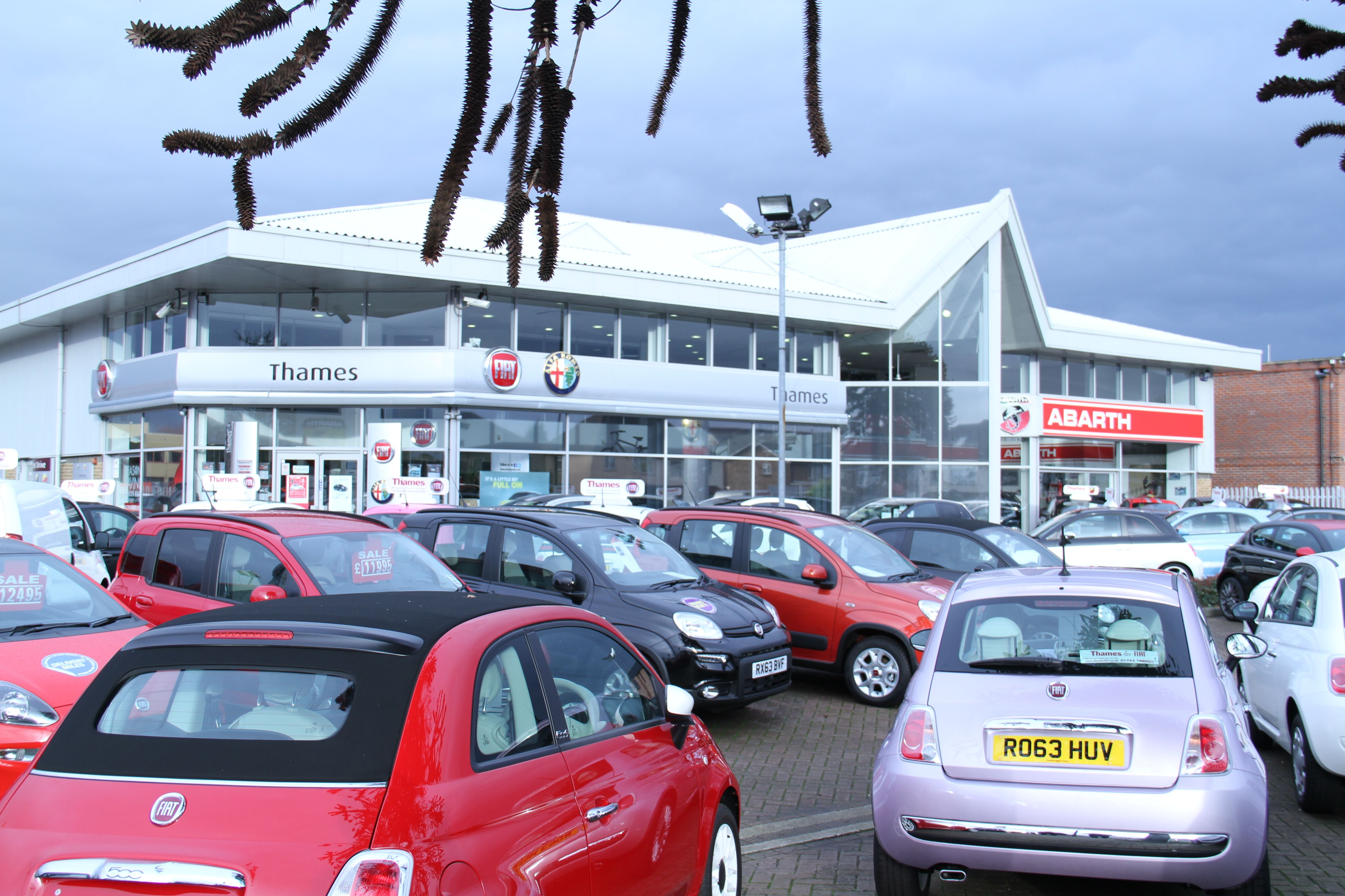 Abarth showroom in Slough | Thames Abarth in Slough | Pinterest