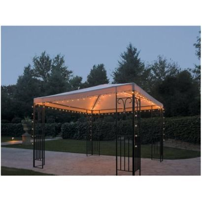 Backyard · Home String Lights   Gazebo ...