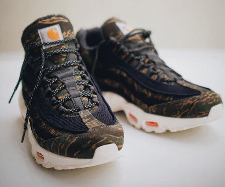 First Look At The Carhartt x Nike Air Max 95 (avec images