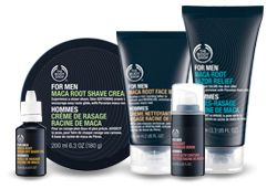 Resultado de imagem para the body shop for men maca root