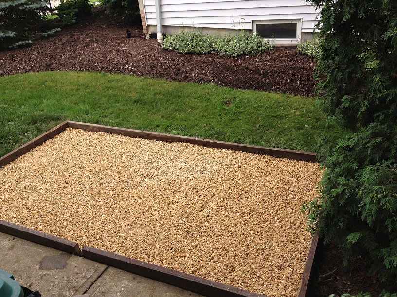 how build backyard dog potty area