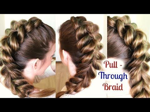 Youtube Hairstyles Cute And Easy Ponytail Hairstyle For School  School Hairstyles