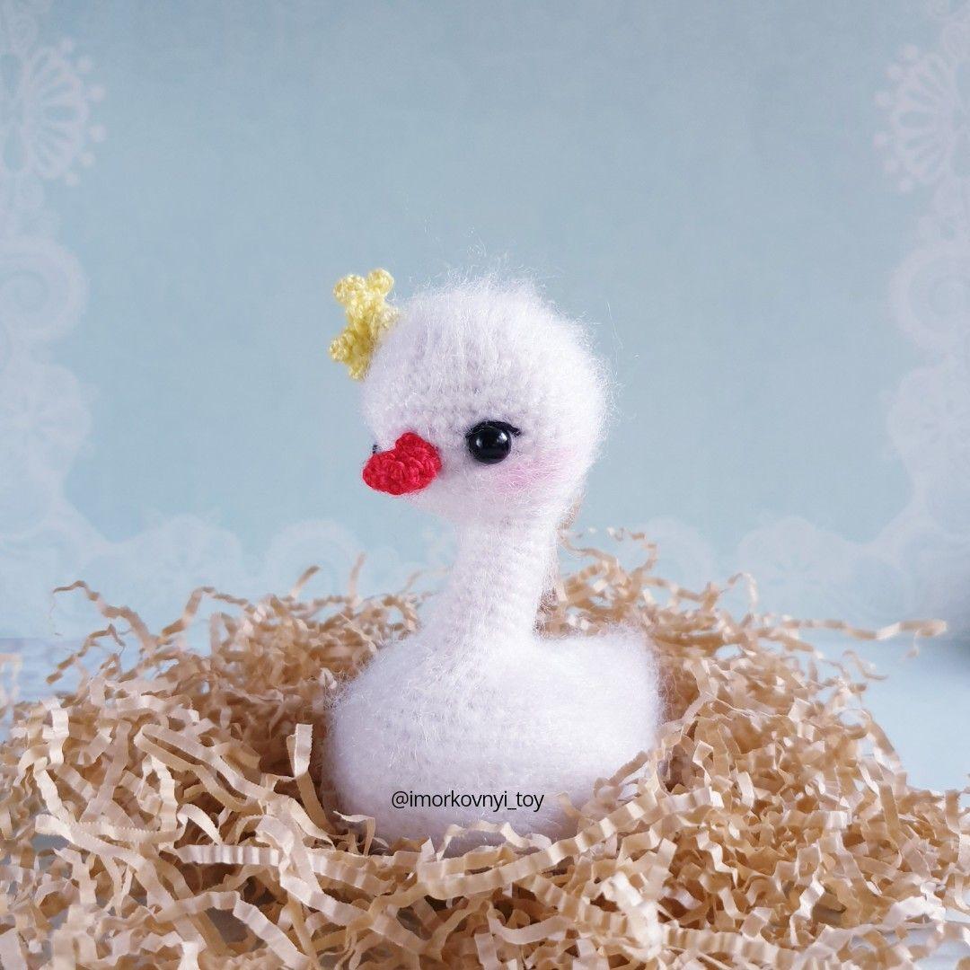 Cute Swan Plush Toys Handmade Animals Doll Stuffed Toy Kids Children Home Décor