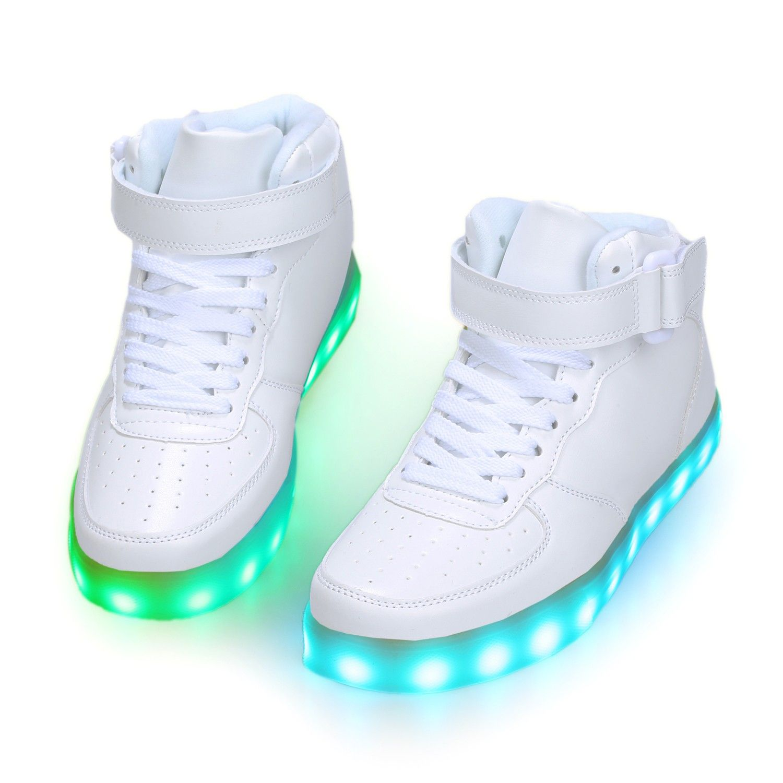huge discount ff2d0 be401 Zapatos LED Altos