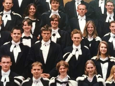 Formatura do Tom em 2002. (College graduation em Cambridge)