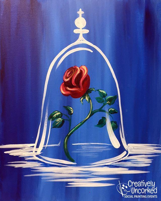08c80f3dfb3087b6a296f1642445d7a2 Acrylic Rose Painting Ideas Acrylic Creative Jpg 640 800 Painting Canvas Crafts Simple Acrylic Paintings Canvas Painting Diy