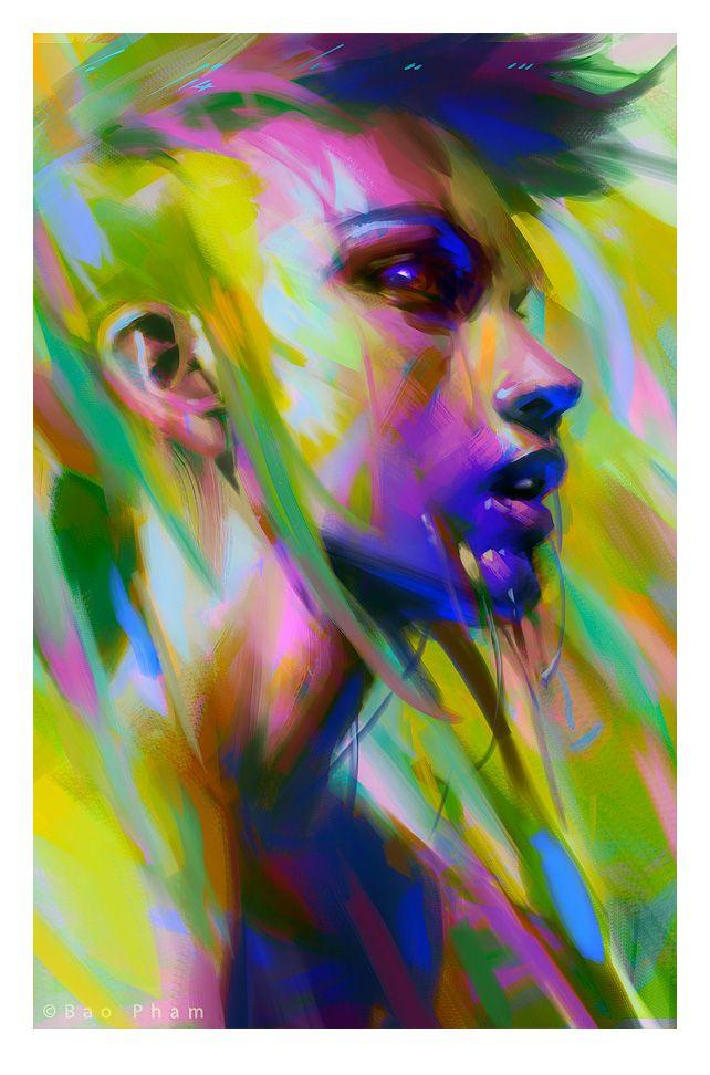 Violet by thienbao on DeviantArt
