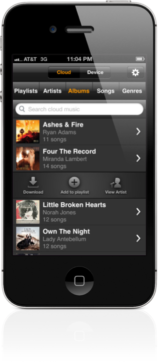 Amazon Cloud Player App For iPhone Now Available For