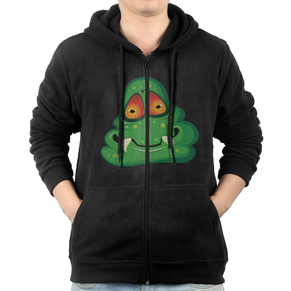 Doppyee Hoodies Sweaters Mens Long Sleeve Grass Leaf Printed Pullover Hooded Sweatshirt With Pockets