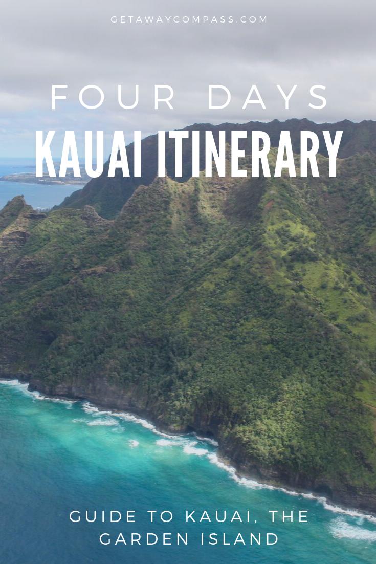 4 Days Kauai Itinerary Napali Coast Kauai Kauai Kauai Island