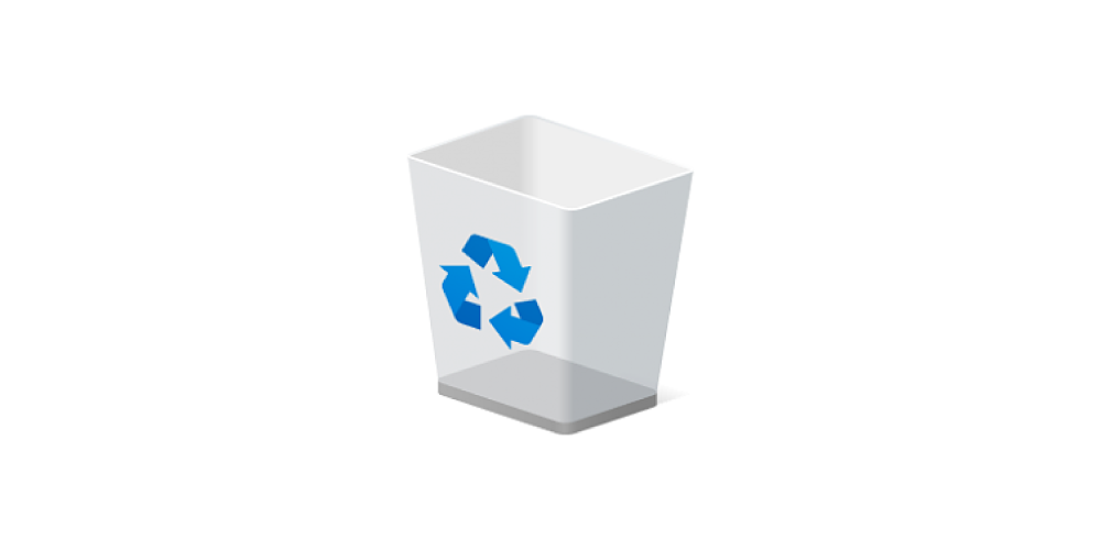 How To Show Or Hide The Recycle Bin Icon On Windows 10 Desktop Recycle Bin Icon Recycling Bins Desktop Icons