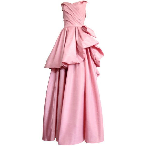 Vintage CHRISTIAN DIOR Ball gown dress ❤ liked on Polyvore ...