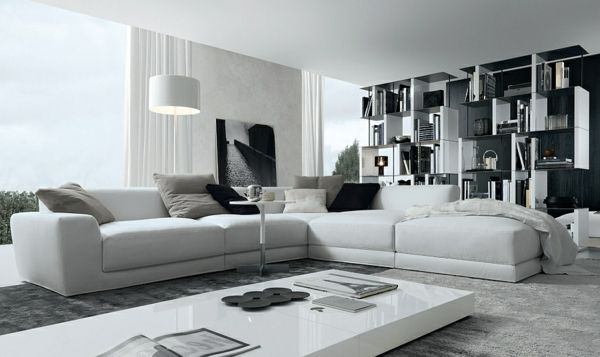 Wohnzimmer Sofa furniture fashioned living room design with beautiful curved