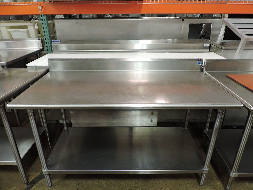Commercial Stainless Steel Work Table W Drawer And Undershelf