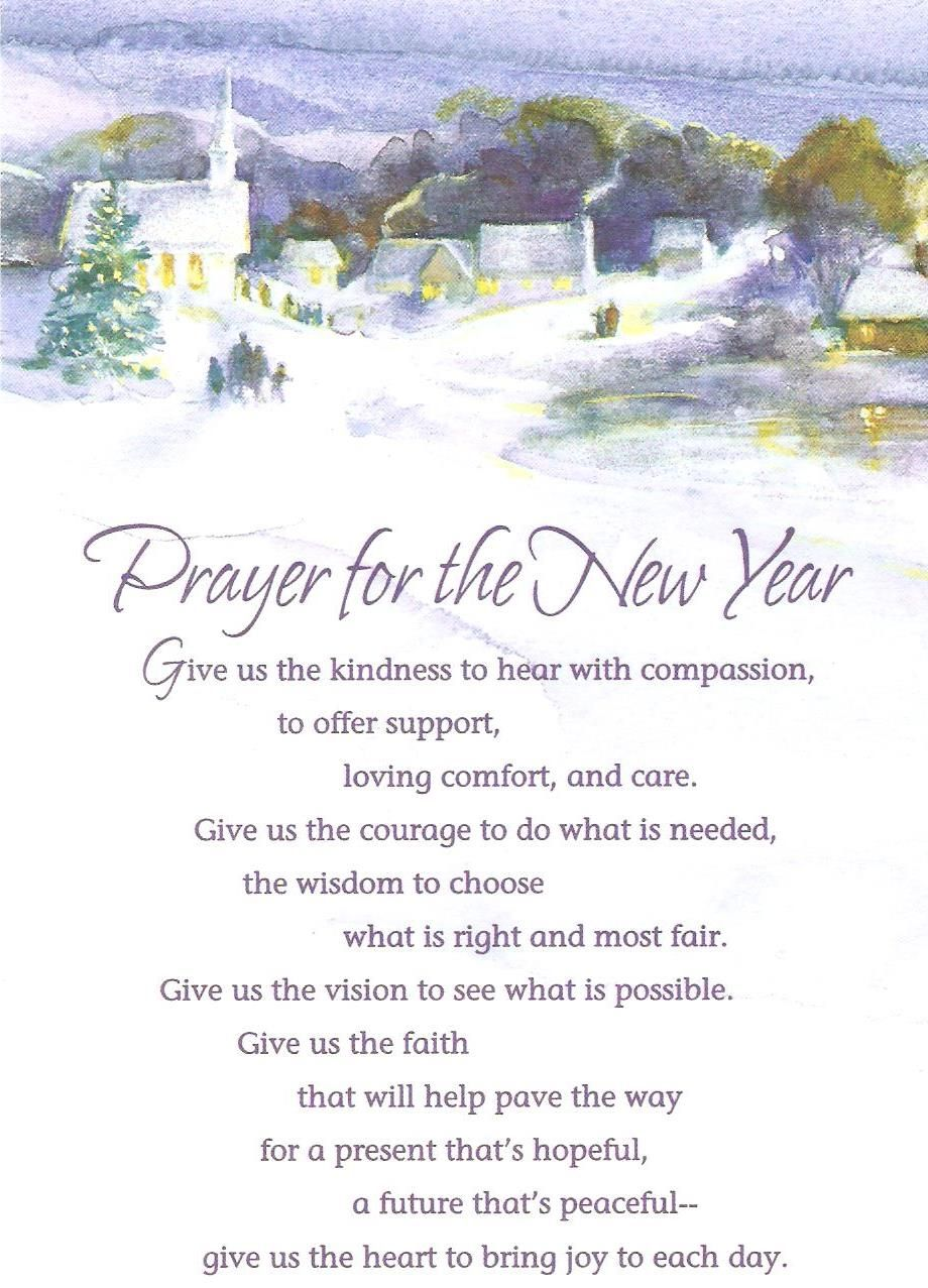prayer for the New Year - Google Search | Bulletin Board Ideas ...