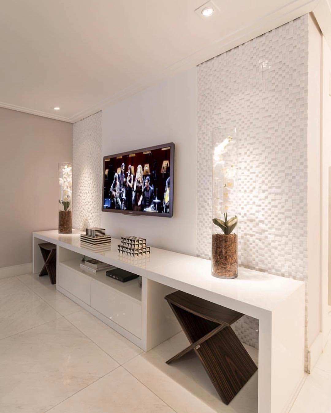 decoration de mur de salon Meuble Télé, Déco Maison, Salon Maison, Mobilier De Salon, Beaux Meubles,