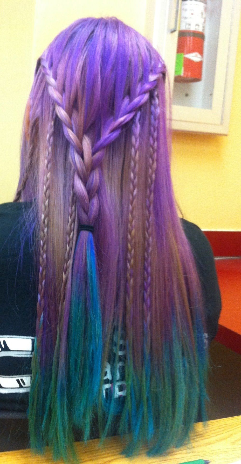 colorful hair my style pinterest colourful