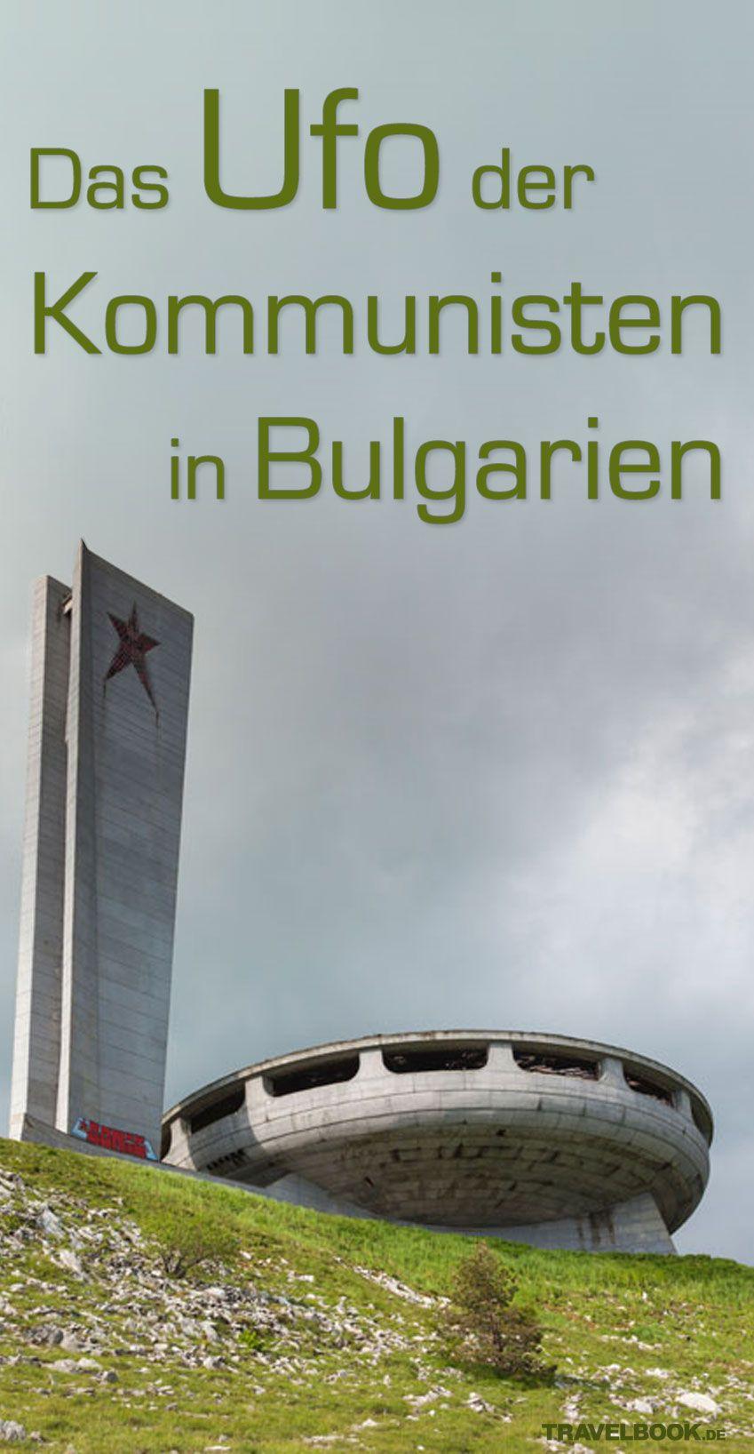 Es ist ein bizarrer Bau, der auf einem Berg mitten in Bulgarien steht: ein kommunistisches Denkmal, das 1981 zur 1300-Jahr-Feier der bulgarischen Staatsgründung eröffnet und nur acht Jahre genutzt wurde. Heute ist der Zutritt zwar verboten, aber wer will, kommt dennoch hinein – und sieht dem Kommunismus beim Zerbröseln zu.