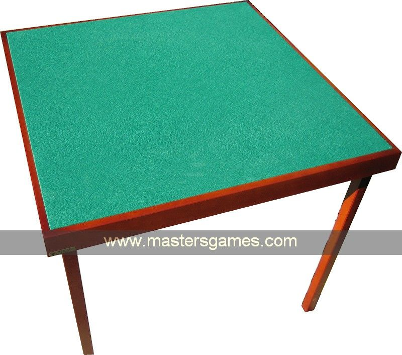 Wooden Card Table Cherrywood Bridge