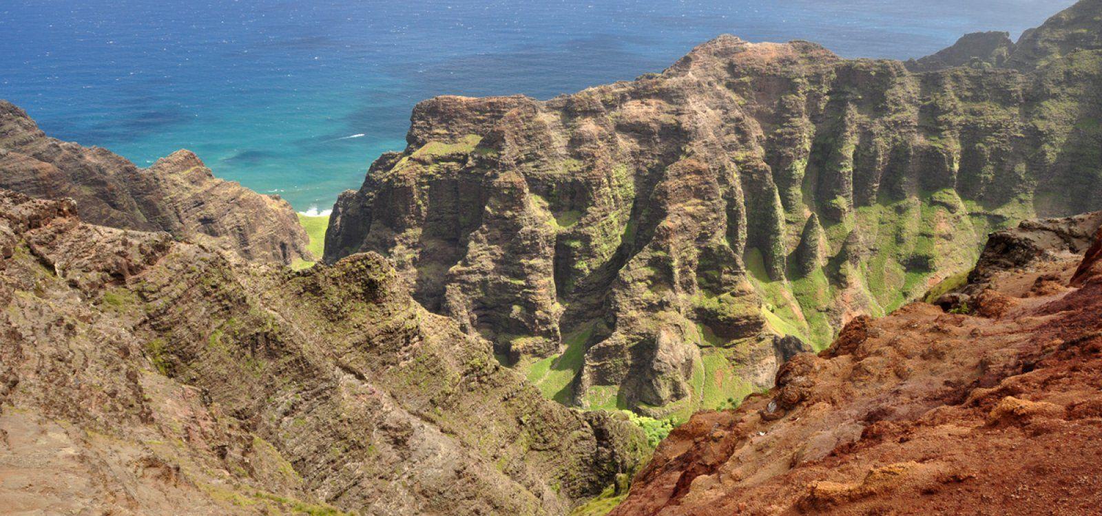 Nualolo Trail Kauai hawaii, Kauai, Trail