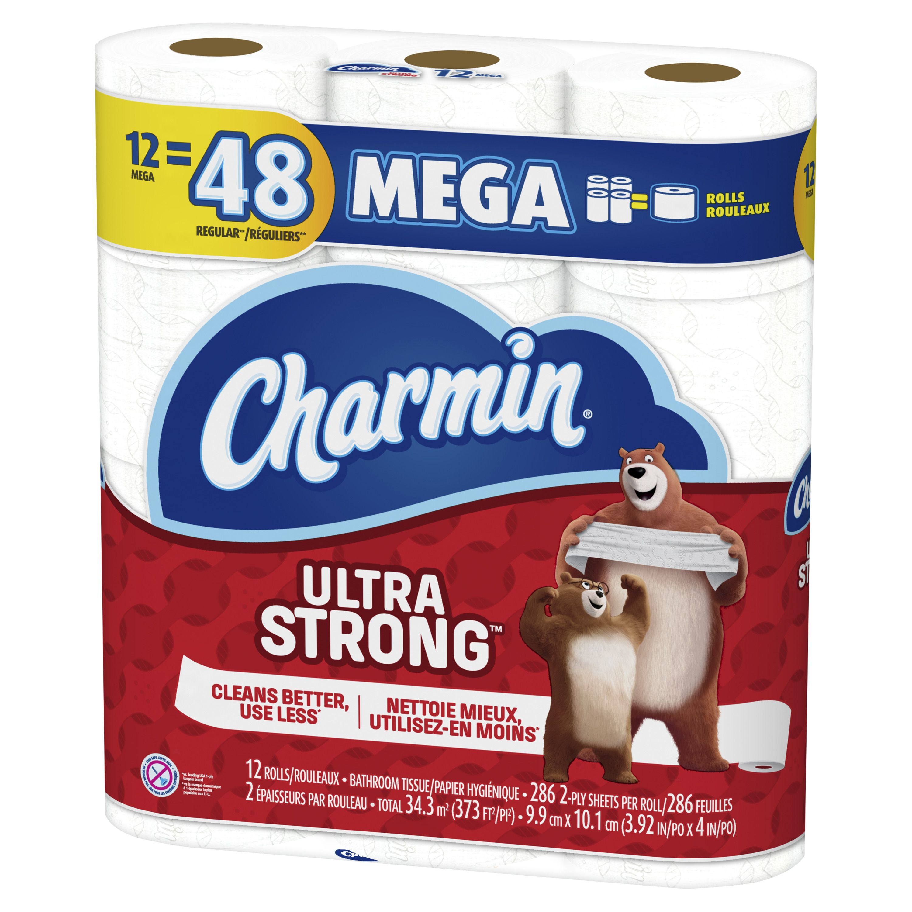 Charmin Ultra Strong Toilet Paper 12 Mega Roll 286 Sheets Per Roll Ad Toilet Ad Paper Strong Charmin Best Toilet Paper Strong