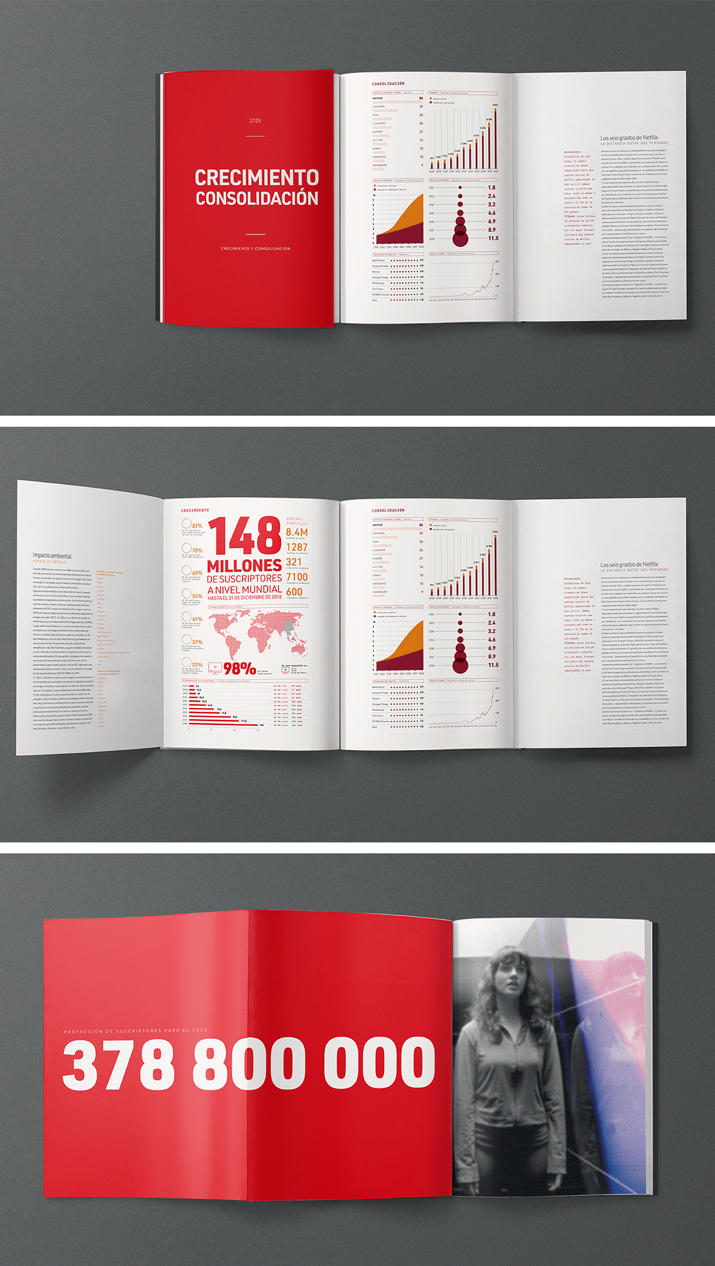 Annual Report Netflix On Behance Annual Report Nonprofit Annual Report Design Graphic Design Resume