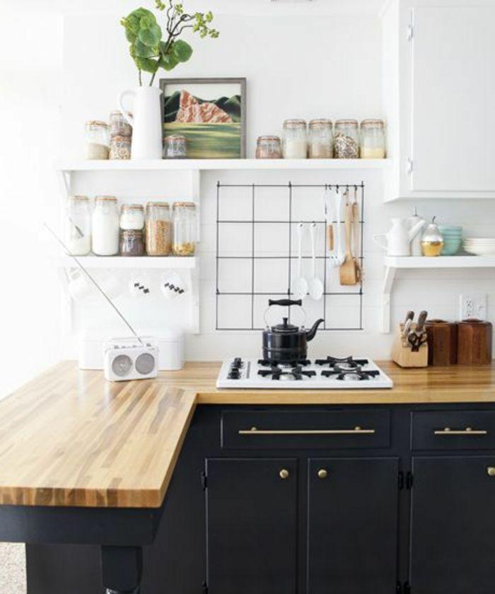 Comment choisir la crédence de cuisine? Idées en 50 photos! Photos - comment accrocher un meuble de cuisine au mur