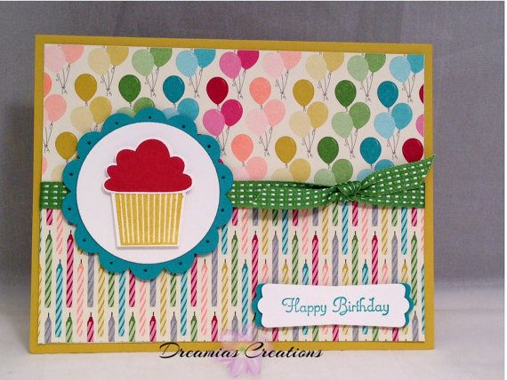 High Quality Birthday Card Made With All By Dreamiascreations 425