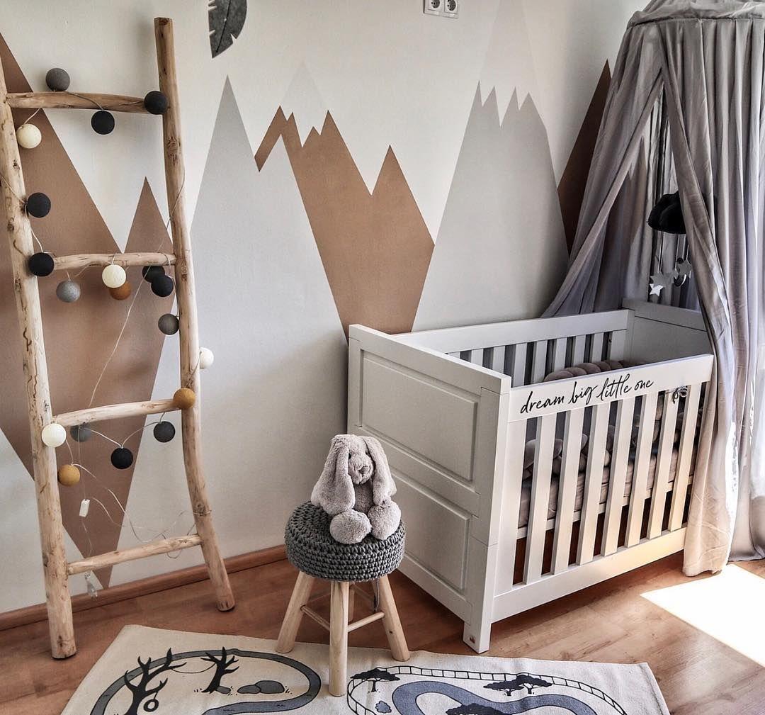 abyzimmer Inspiration 🧡 Berge in grau und nougat ist das