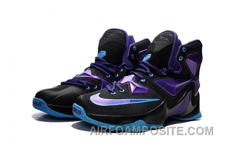 Nike LeBron 13 Purple Blue Shoes Free Shipping