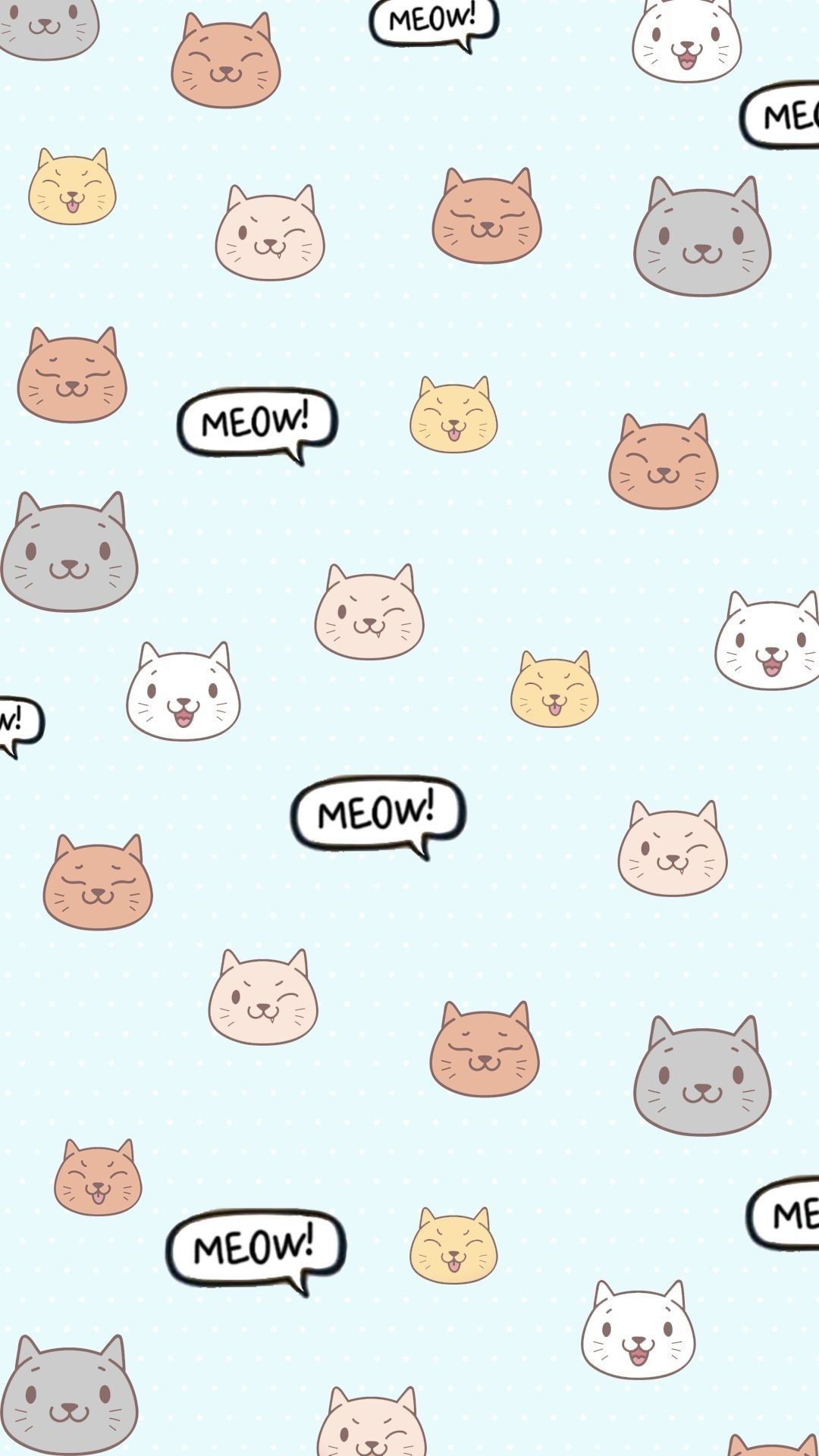 Pin By Aubree Neal On Wallpaper Cat Phone Wallpaper Cute Cat Wallpaper Cartoon Wallpaper Iphone