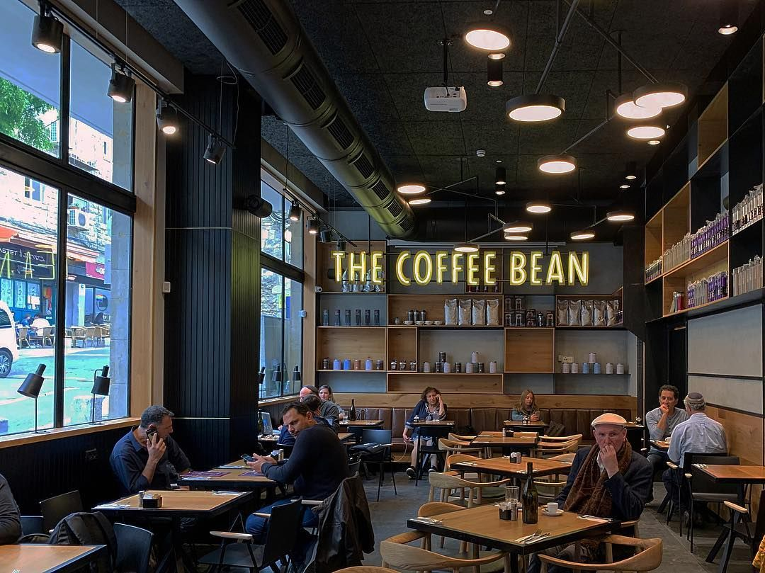 New The 10 Best Home Decor With Pictures The Coffee Bean Tea Leaf Jerusalem Cafedesign Interi In 2020 Cafe Interior Design Coffee Shop Decor Chicago Artists