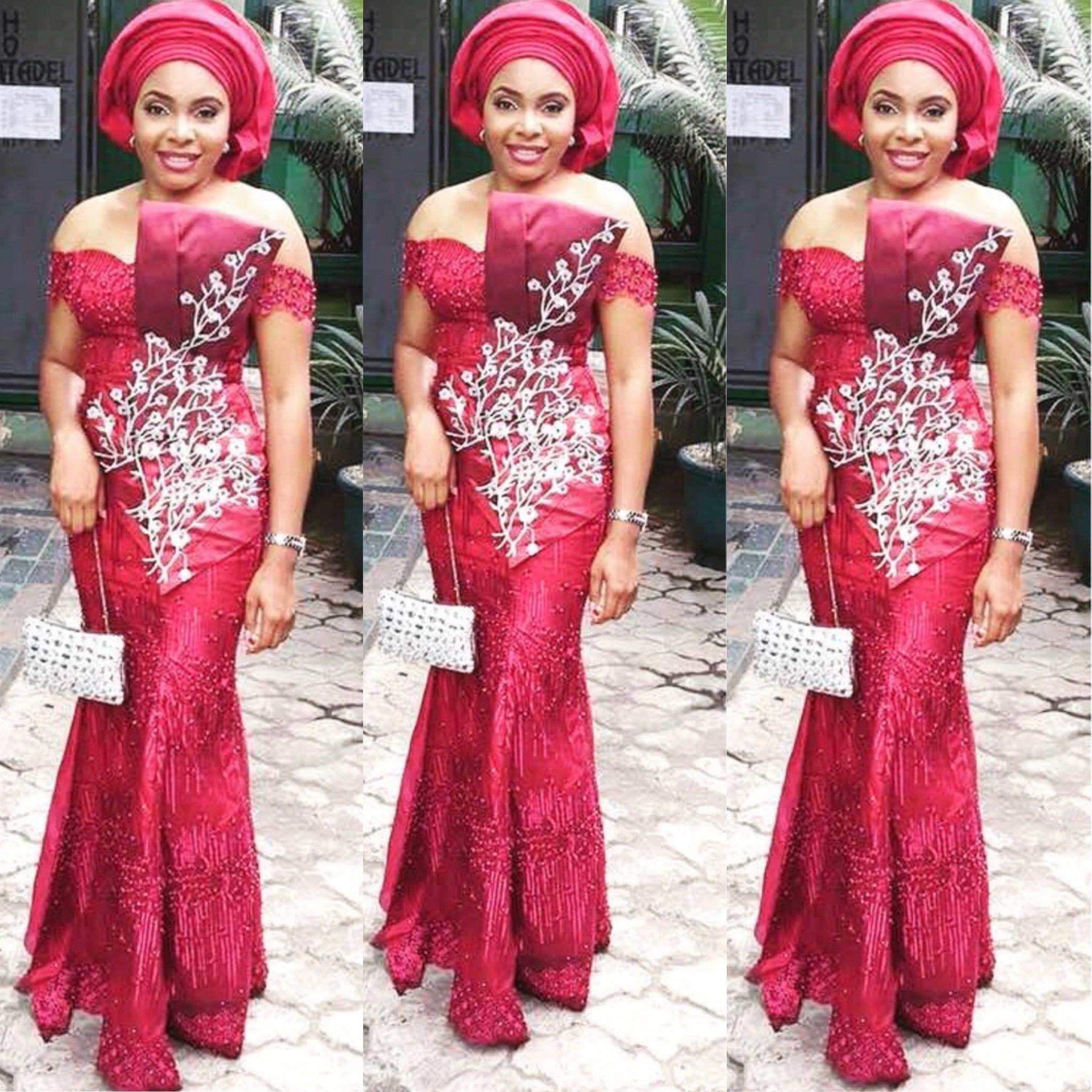 Beautiful #Asoebi style Kindly follow us @flexingstyles247 tag us ...