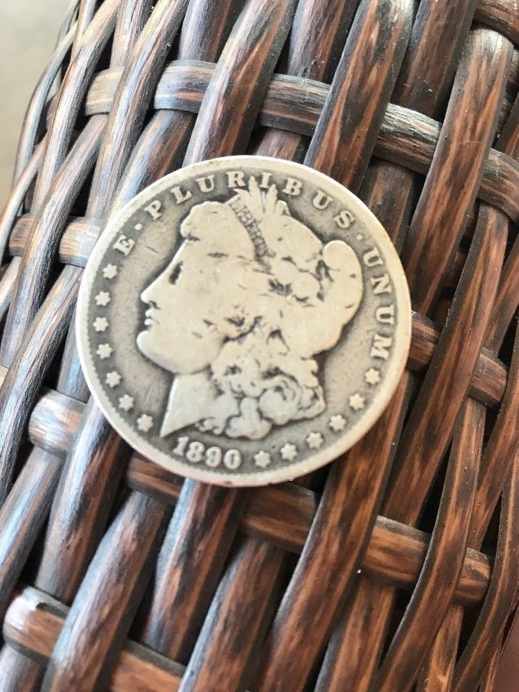 1890 O 1 Morgan Silver Dollar Ebay Morgan Silver Dollar