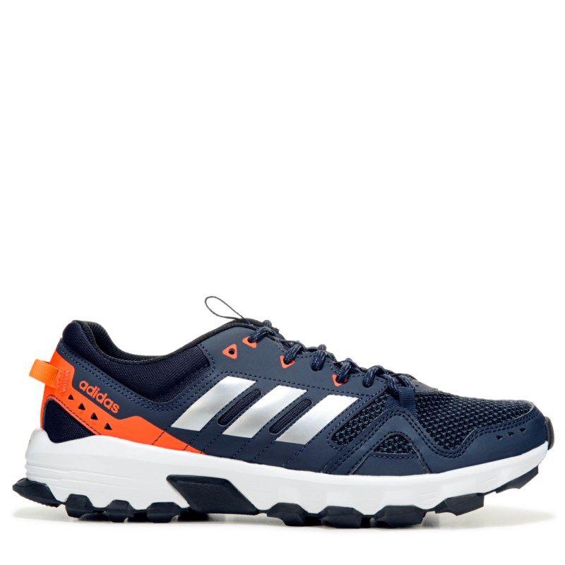 Adidas hombre 's rockadia zapatillas de trail corriendo (Navy / Orange) Pinterest