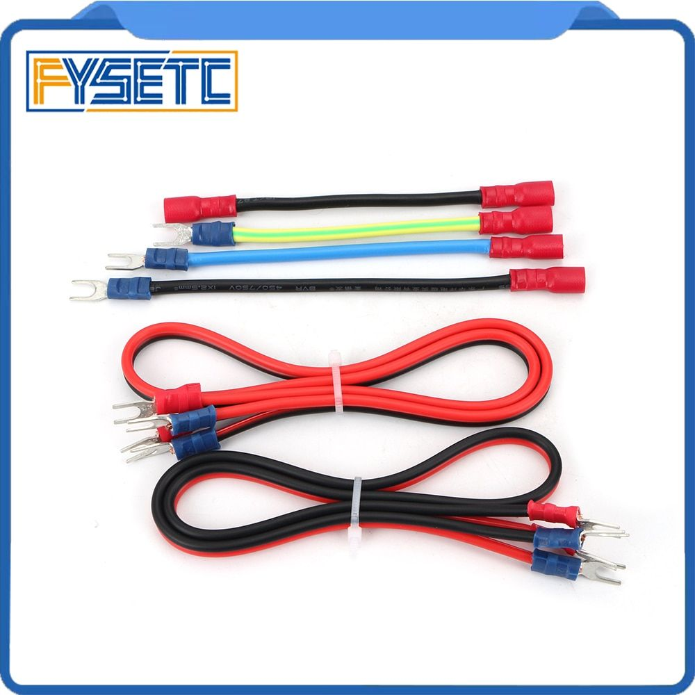 1set Prusa I3 Mk3 Power Panic Cable Mk3 Psu Wiring Harness Kit Wire For Prusa I3 Mk3 3d Printer Parts Attention 3d Printer Parts Stuff To Buy 3d Printer