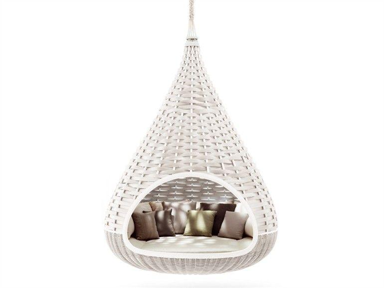 Divano da giardino a igloo NESTREST by Dedon | design Fred Frety ...