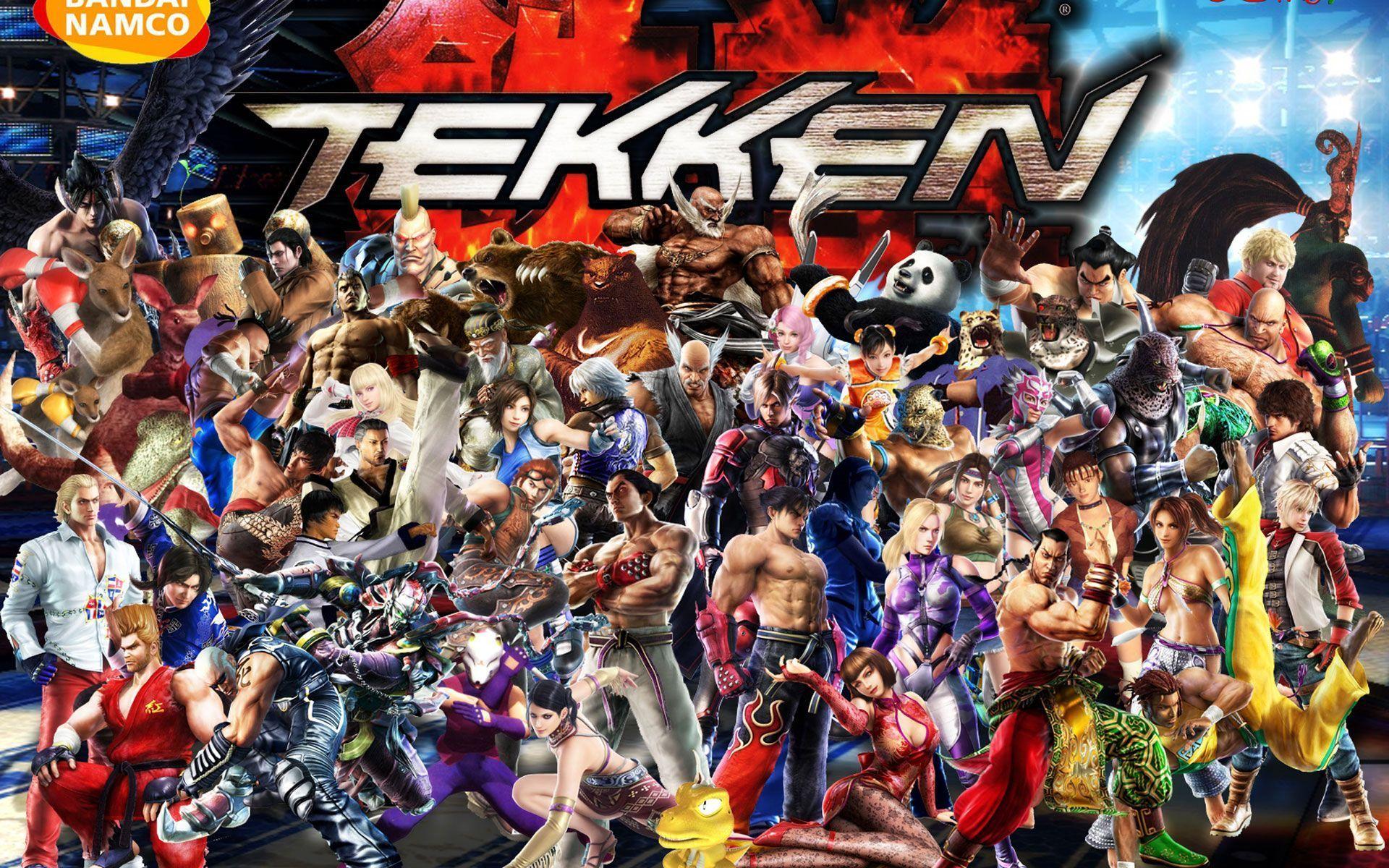 Tekken 7 Wallpapers Wallpaper Cave Character Wallpaper
