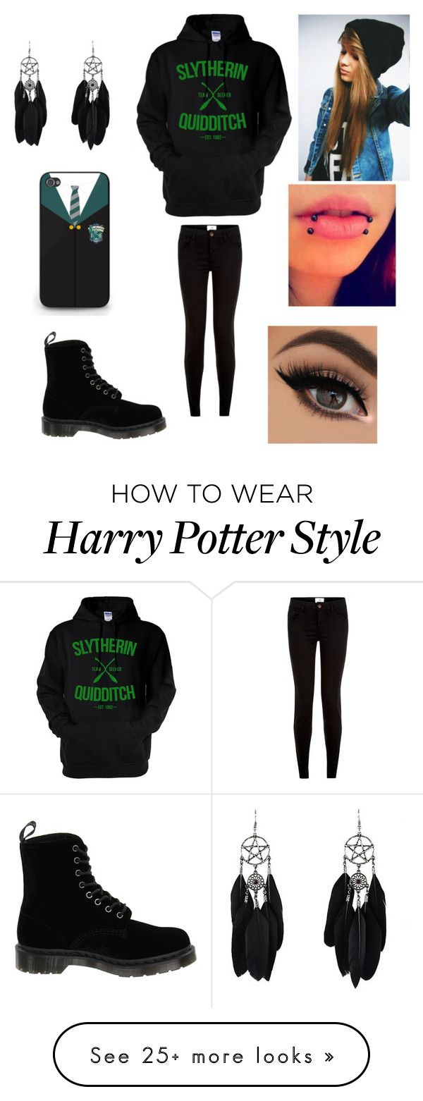"""Quotev"" by morgan-elizabeth-lafever on Polyvore featuring Dr. Martens"