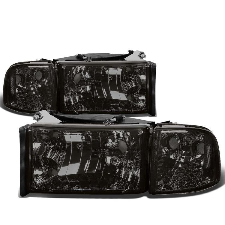 94-02 Dodge Ram 1500 2500 3500 Pickup Headlights