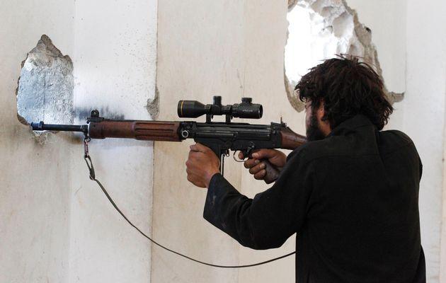 Syrian rebel