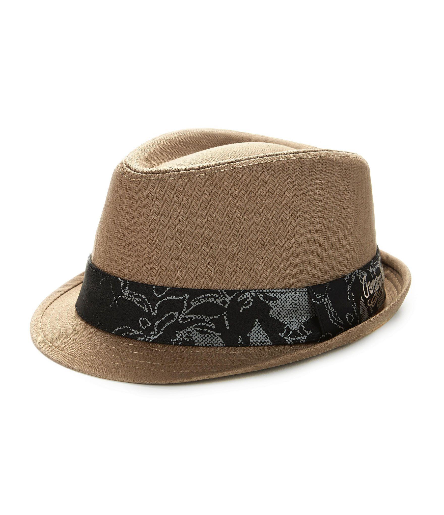 Cremieux Jeans Herringbone Fedora  49692b7a782