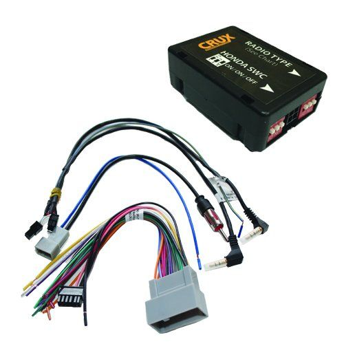 Crux Swrhn 62l Radio Replacement Interface For Select Honda Vehicles Check Out The Image By Visiting The Link Thi Honda Cars Apple Car Play Honda Accord