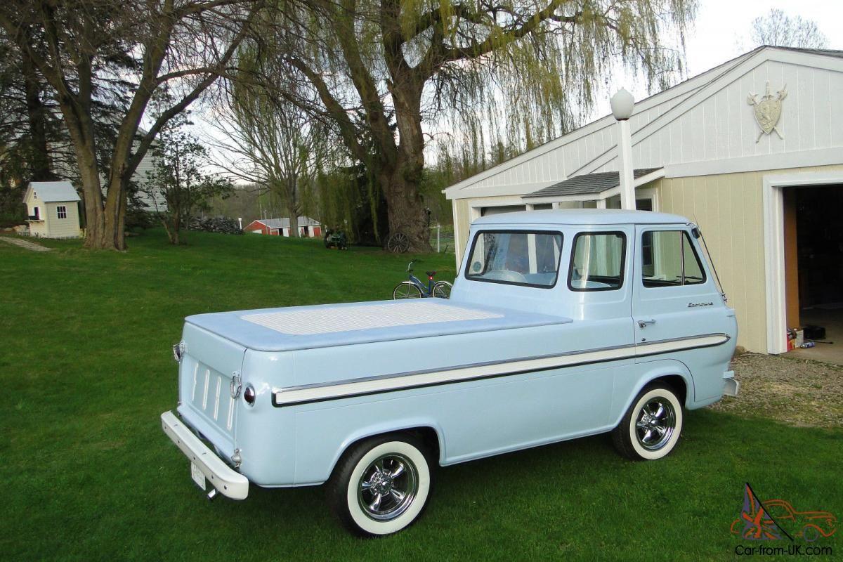 1966 Ford Econoline PickUp Vintage pickup trucks