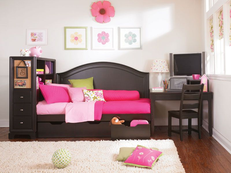 Midtown Storage And Study Daybed   Crafted In A Modern Lifestyle Design,  The Midtown Storage And Study Daybed Combines An Attractive Daybed Panel,  ...
