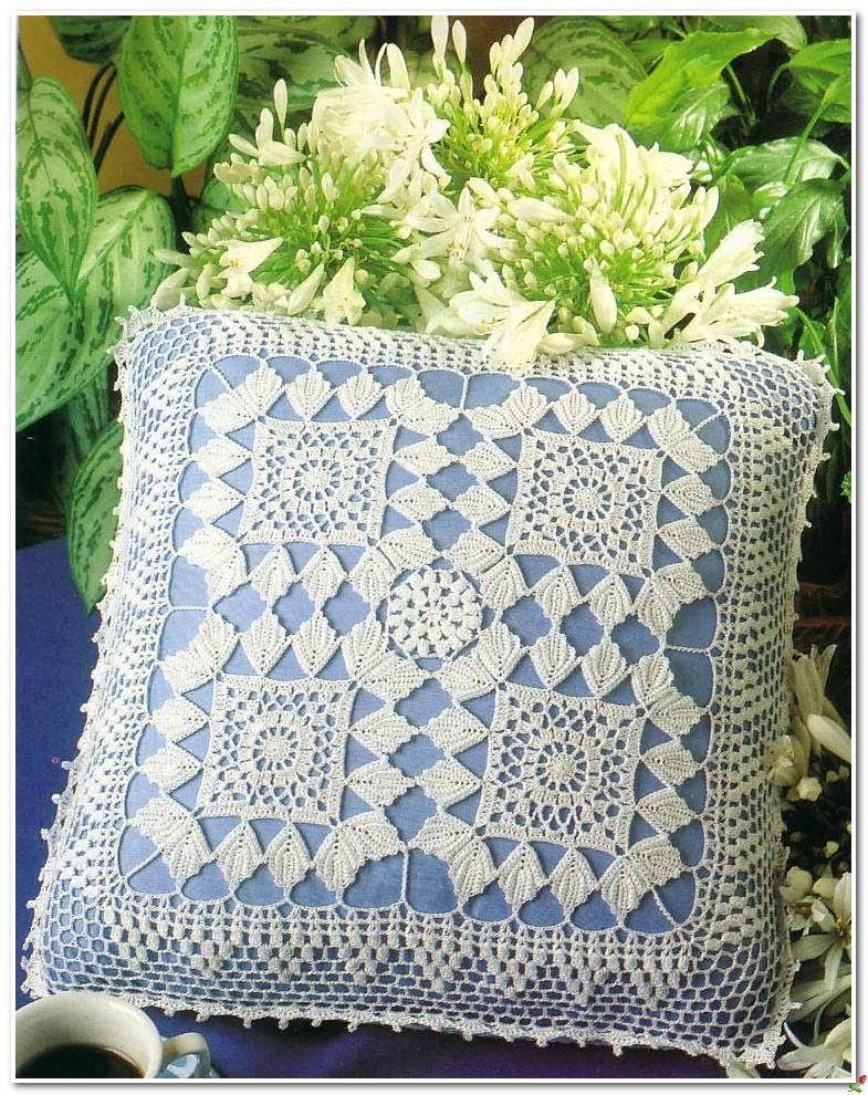 Crochet: Two pillow | Schematy - szydełko / crochet free patterns ...
