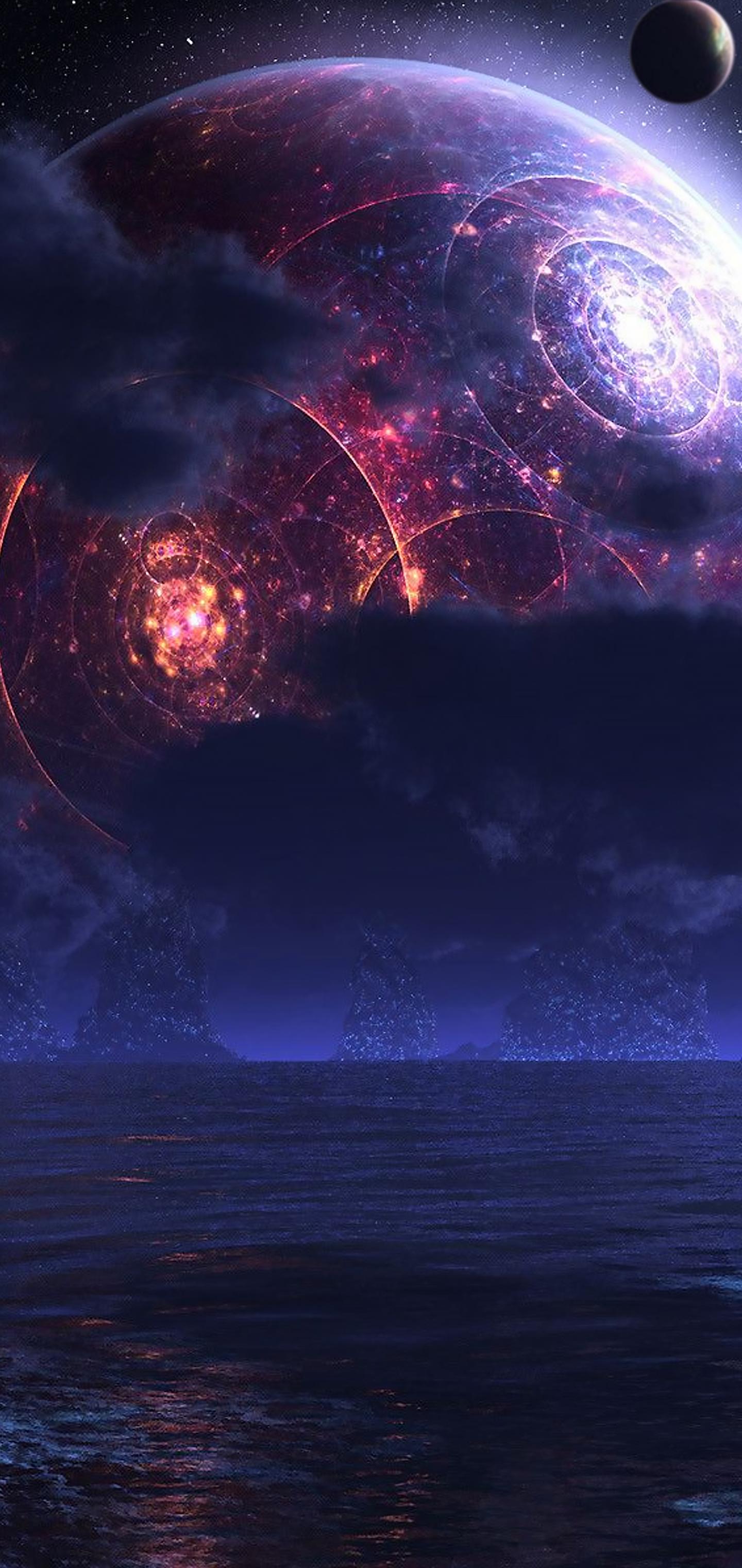 pTron Bassbuds Lite Review Galaxy wallpaper, Espaços de